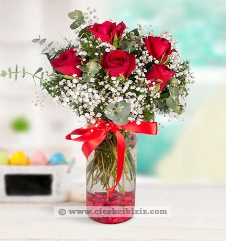 Erzurum Çiçek kırmızı gül