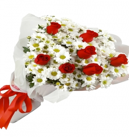 Erzurum Çiçek GÜL ve PAPATYA